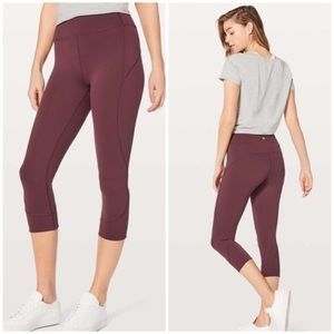 Lululemon In Movement Crop